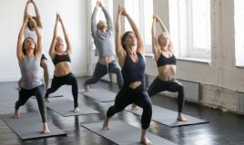 yoga, lezione
