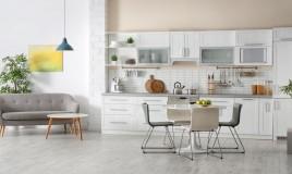 arredamento, soggiorno, cucina