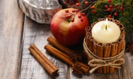 decorazioni natalizie con frutta, decorazioni natalizie con spezie, decorazioni natalizie fai da te