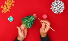 decorazioni, Natale, pasta