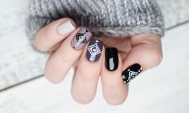 nail art, decorazione unghie, autunno inverno 2019