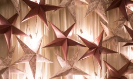 stella di natale kirigami
