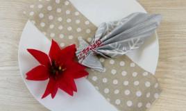 Come piegare i tovaglioli -  5 idee per Natale