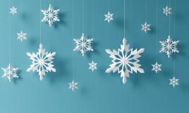 fiocchi neve carta fai da te