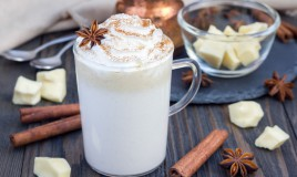 cioccolata calda bianca, ricetta, preparazione