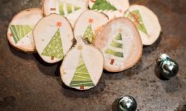 riciclare albero di natale, riciclo creativo albero di natale