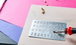 targa fai da te, targa pirografata, disegni pirografo