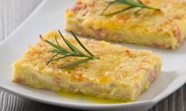 torta salata, spuma patate, gateau