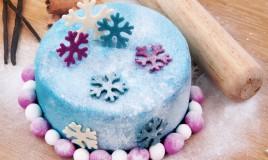 torte a tema invernale pasta di zucchero, torte a tema inverno pasta di zucchero, torte a tema invernale