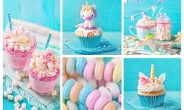 dolci a tema unicorno, festa a tema unicorno
