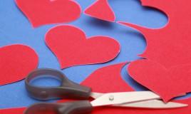 idee san valentino fai da te, cornice fai da te, portafoto fai da te