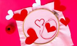 schemi punto catenella amore, schemi punto catenella, schemi ricamo amore, disegni ricamo amore