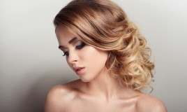 butter blonde color hair