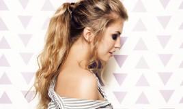 acconciature semplici, capelli lunghi e medi, cerimonia