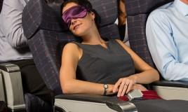 rimedi naturali, dormire in aereo, viaggio