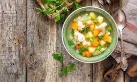 zuppa, verdura, estate