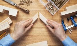 come incollare cornice legno, cornice legno rotta
