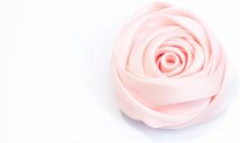 bocciolo rosa stoffa