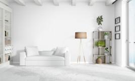 arredamento, total white, casa bianca