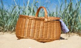 break spiaggia, cibo da spiaggia