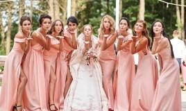 damigelle, matrimonio, abito