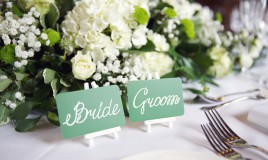 segnaposto nozze informali