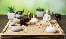 giardino zen tavolo, come realizzarlo, relax