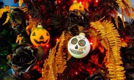 albero halloween, albero halloween idee, albero halloween decorazioni