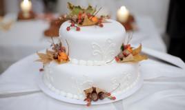 torte matrimonio tema autunno, torte autunno, torte matrimonio idee