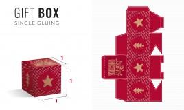 scatole di natale fai da te stampare costruire, scatole natale fai da te, scatole natale stampare, scatole natale costruire