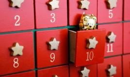 calendario avvento cosa mettere dentro, calendario avvento fai da te, calendario avvento