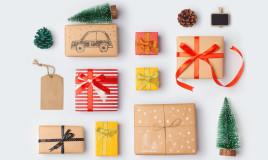 pacchi regalo natalizi