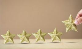 stella 3d cartoncino
