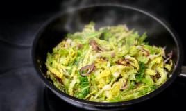 cucinare la verza, aceto, ricetta