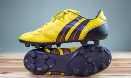 pulizia, scarpe, calcio