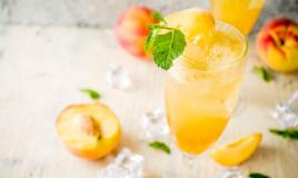 virgin bellini, cocktail analcolico, ricetta