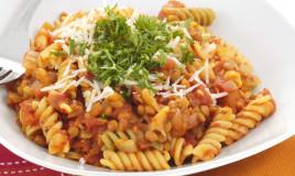 pasta, lenticchie, primo