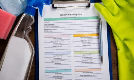come organizzare pulizie settimanali, organizzare pulizie, organizzare pulizie domestiche