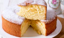 torta paradiso, ricetta, senza latte burro