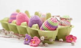lavoretti, lana, Pasqua