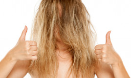 lisciare capelli ribelli