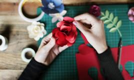 fiori carta semplici