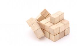 cubi puzzle fai da te, puzzle legno, cubi fai da te decoupage