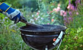 pulire guanto barbecue, pulizia guanto barbecue