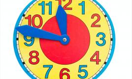 orologio fai da te bambini