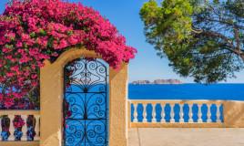 arredamento, mare, giardino