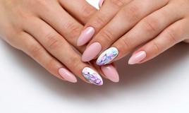 nail art, filo di cotone, video tutorial facile