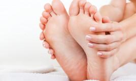 massaggio, piedi, metodo