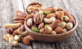calorie, frutta secca, qual è la più leggera