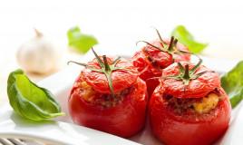 pomodori, siciliana, capperi